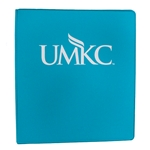 UMKC Turquoise 1 Inch Three-Ring Binder