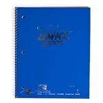 UMKC Roos Blue One-Subject Notebook