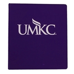 UMKC Purple 1 Inch Three-Ring Binder