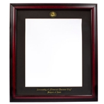 University of Missouri Kansas City Cherry Law Diploma Frame