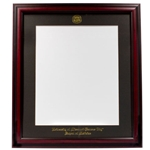University of Missouri Kansas City Medicine Cherry Diploma Frame
