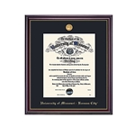 University of Missouri Windsor Diploma Frame