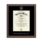 University of Missouri Williamsburg Red Diploma Frame