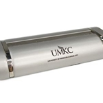UMKC Silver Business Card Holder