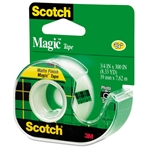 "Scotch 3/4"" Magic Transparent Tape with Dispenser"