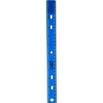 "Plastic Assorted 12"" Ruler"