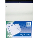 Top Flight White 50 Sheet Legal Pad - 2 Pack