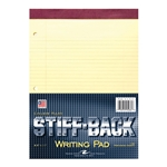 Roaring Spring Stiff-Back Yellow 100 Sheet Writing Pad