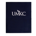 UMKC Navy Blue Laminated 2 Pocket Folder