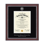 University of Missouri School of Nursing Brown Diploma Frame