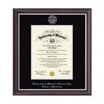 University of Missouri School of Pharmacy Devonshire Diploma Frame