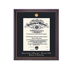 University of Missouri Windsor School of Pharmacy Diploma Frame