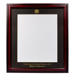 University of Missouri Kansas City School of Pharmacy Cherry Diploma Frame