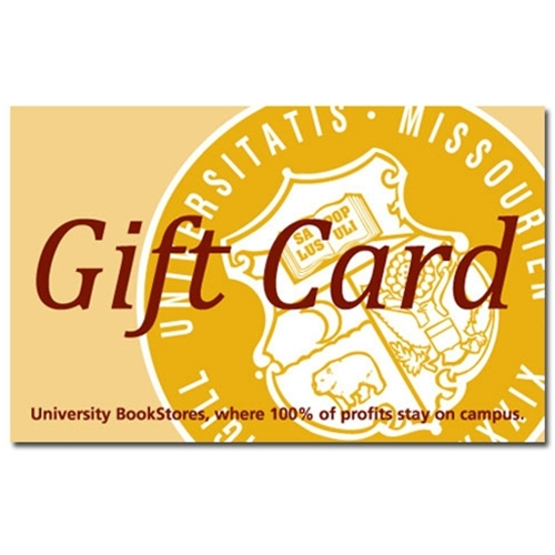 UMKC Bookstore Gift Card