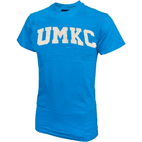 UMKC Roos Blue Crew Neck T-Shirt