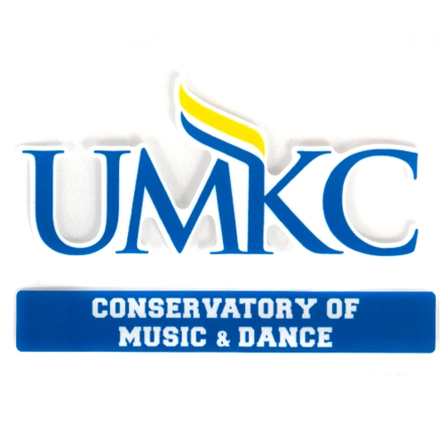 UMKC Conservatory of Music & Dance Decal