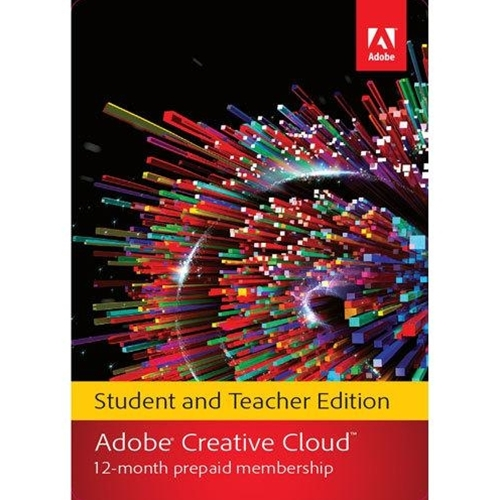 Adobe Creative Cloud Complete 12 Month Subscription