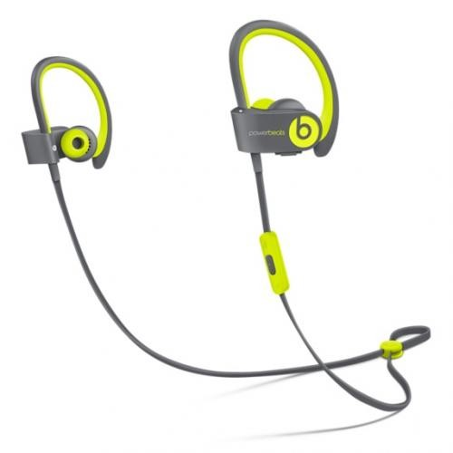 Beats by Dre Powerbeats2 Yellow Sport Wireless Ear Buds