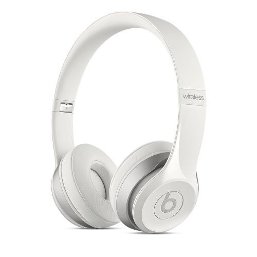 Beats by Dre White Solo2 Wireless On-Ear Headphones