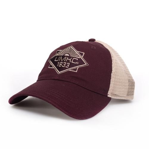 UMKC Maroon & Tan Trucker Hat
