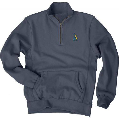UMKC Roos Charcoal 1/4 Zip Sweatshirt