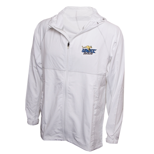 UMKC Roos White Full Zip Jacket