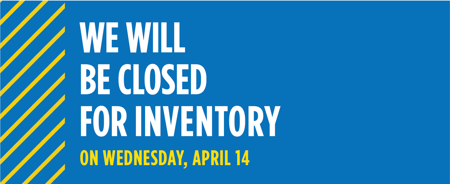 UMKC Bookstore will be closed for inventory on April 14
