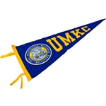 UMKC Official Seal Royal Blue Pennant