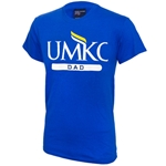 UMKC Dad Royal Blue Crew Neck T-Shirt