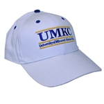 UMKC White Adjustable Hat