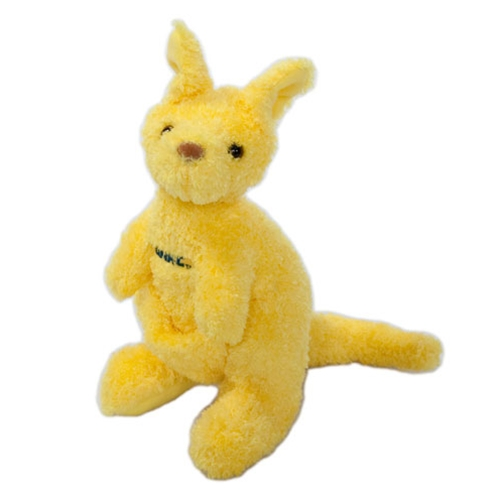 "UMKC 7.5"" Gold Stuffed Kangaroo"