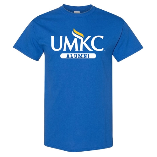 UMKC Alumni Royal Blue Crew Neck T-Shirt