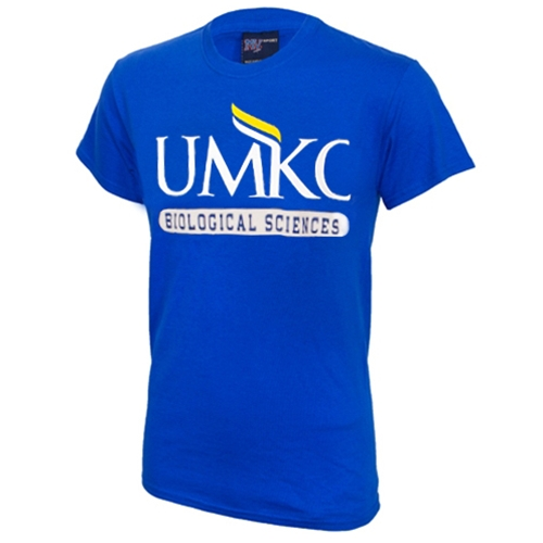 UMKC Biological Sciences Royal Blue Crew Neck T-Shirt