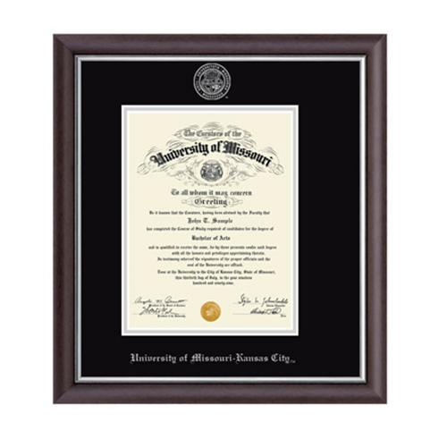 Umkc Academic Calendar.University Of Missouri Kansas City Devonshire Diploma Frame 8x11 Grey