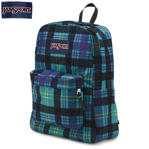 cb12511f99ab UMKC Bookstore - JanSport SuperBreak Preston Plaid Backpack