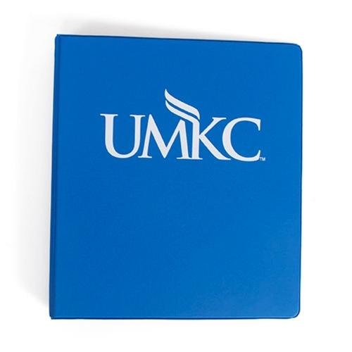 umkc bookstore umkc royal blue 1 inch binder