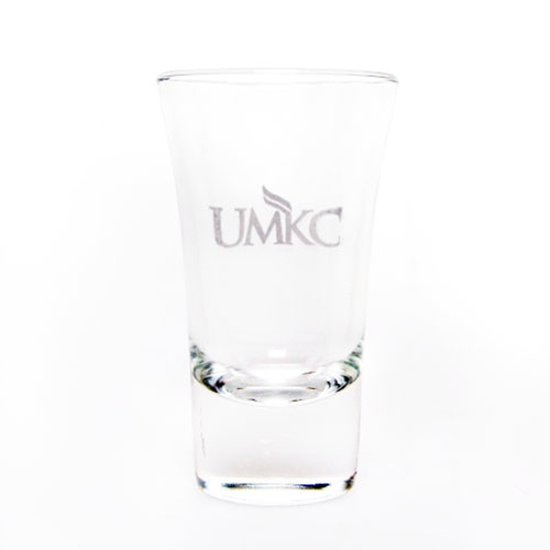 UMKC Etched Shot Glass