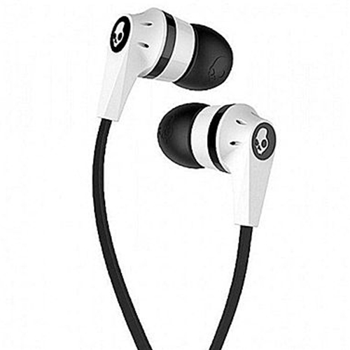Umkc Bookstore Skullcandy White Black With Mic Ink D Ear Buds