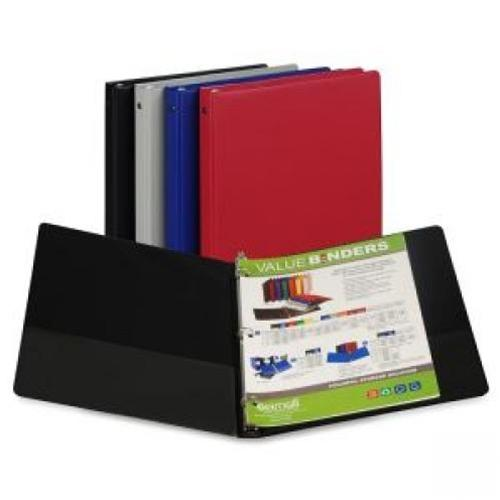 "Assorted Colors .5"" Round Ring Binder"