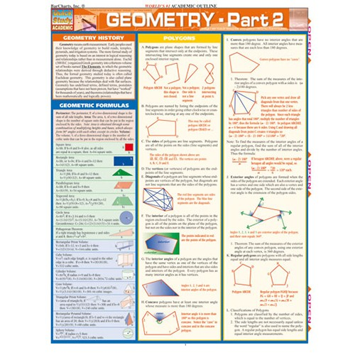 Geometry Part 2 Quick Reference Guide