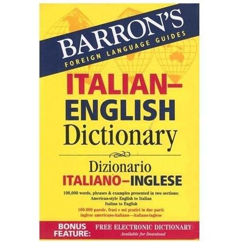 Barron's Italian-English Dictionary Paperback