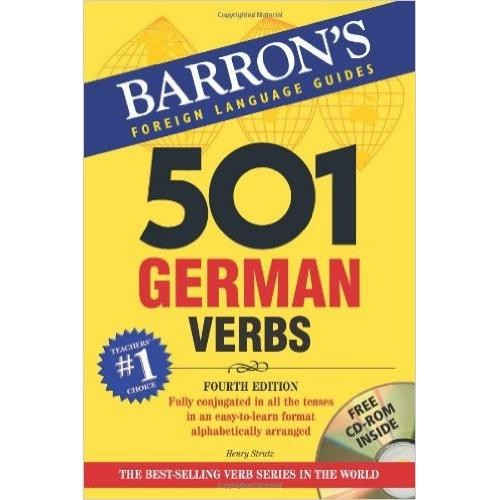 Barron's 501 German Verbs with CD-ROM (Second Edition)