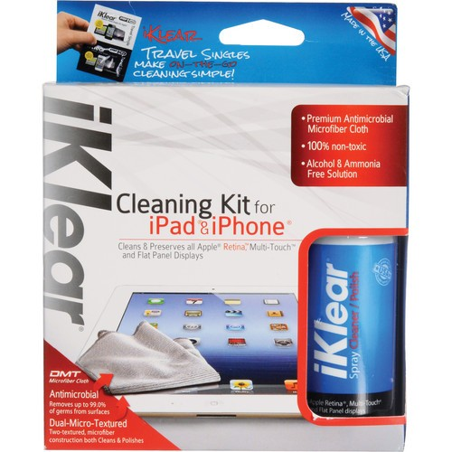 iKlear iPad & iPhone Cleaning Kit