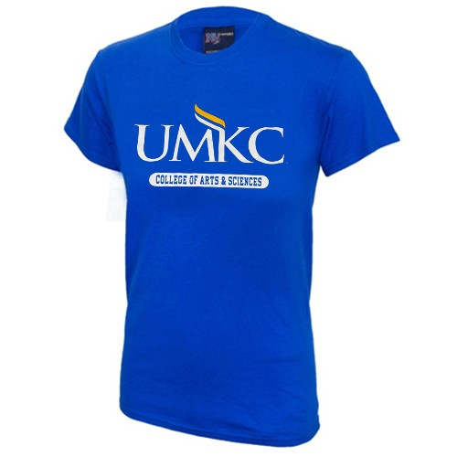 UMKC College of Arts and Sciences Royal Blue Crew Neck T-Shirt