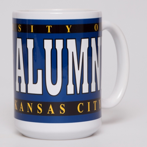 UMKC Alumni White & Blue Ceramic Mug
