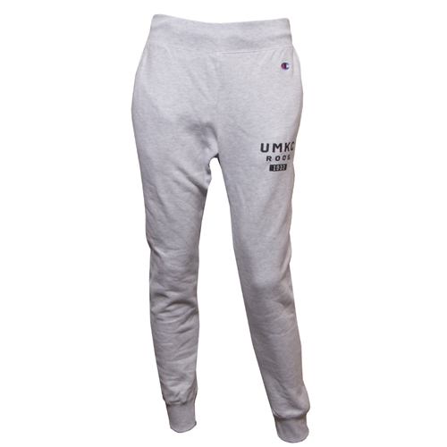 good reputation drop shipping enjoy clearance price UMKC Roos Champion Ash Grey Closed Bottom Sweatpants Adult Large Grey - Ash