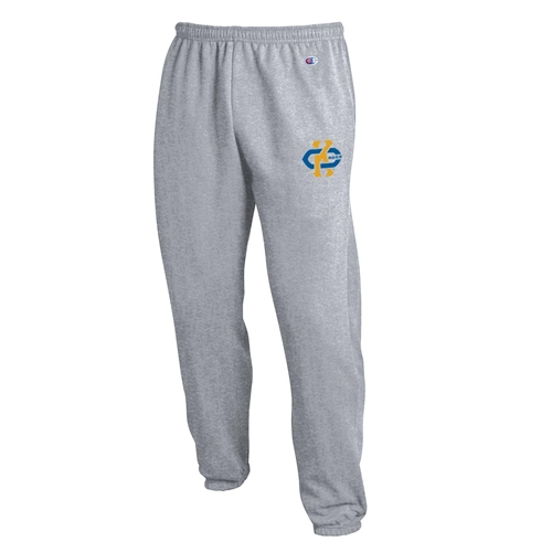 UMKC Roos Black Closed Bottom Sweatpants