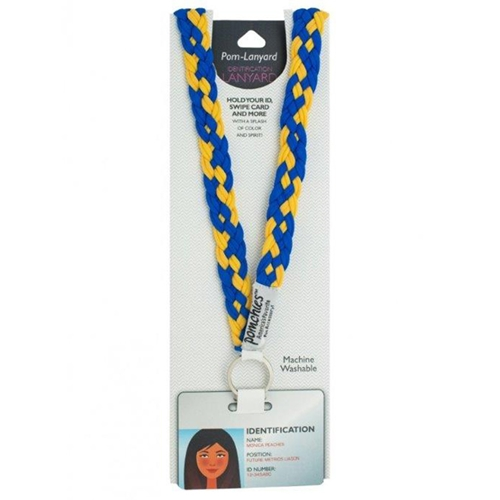 UMKC Royal Blue & Gold ID Lanyard
