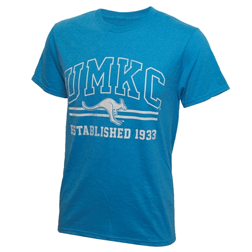 UMKC Roo Teal Crew Neck T-Shirt