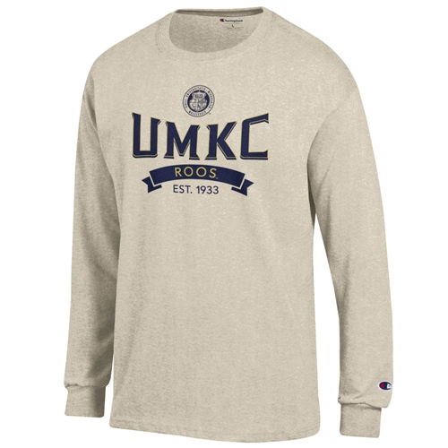 UMKC Roos Champion Juniors' Cream Crew Neck Shirt